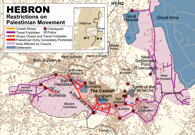 Hebron map